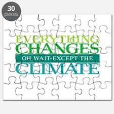 Everything Changes Except the Climate Puzzle