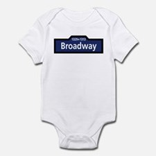 Broadway, New York City Infant Bodysuit