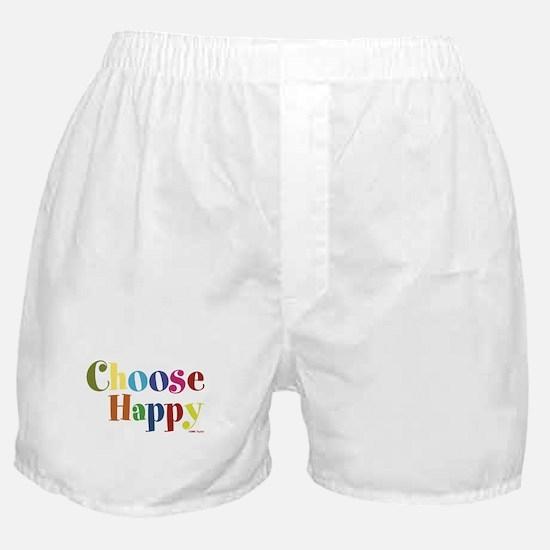 Choose Happy 01 Boxer Shorts