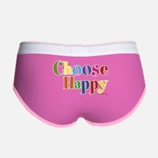 Choose Happy 01 Women's Boy Brief