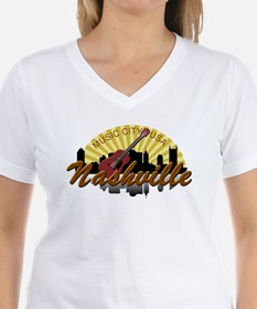 Nashvile Music City Sunburst-BRN T-Shirt