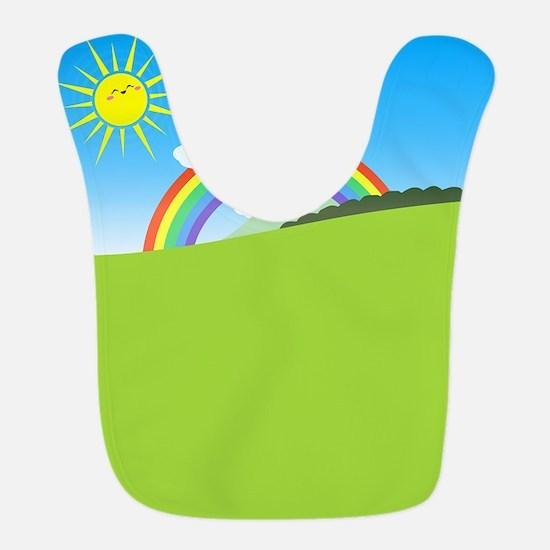 Happy Colorful Planet 03 Bib