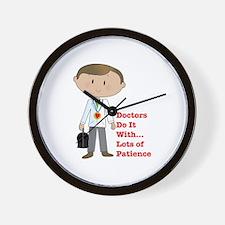 Doctors Do It.... Wall Clock