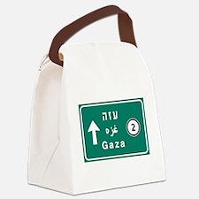 Gaza, Palestine Canvas Lunch Bag