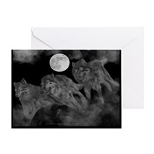Ghost Pack Greeting Card
