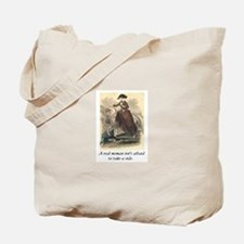 A real woman - sidesaddle.JPG Tote Bag
