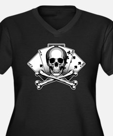 Dead Mans Hand: Aces and Eights Plus Size T-Shirt