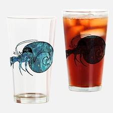 Hermit Crab Drinking Glass