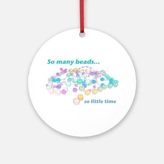 So Many Beads Ornament (Round)
