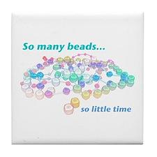 So Many Beads Tile Coaster