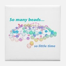 So Many Beads Tile Coaster