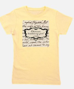 Cute Jane austin Girl's Tee