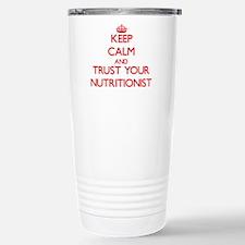 Funny Dietician Travel Mug