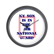 My son is in the Air National Wall Clock