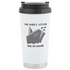 Funny John Travel Mug