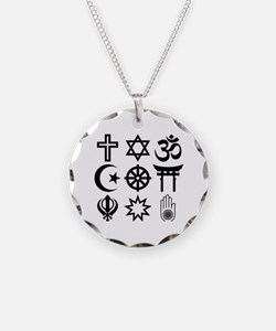 Funny Afterlife Necklace Circle Charm
