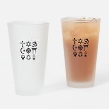 CoExist Drinking Glass