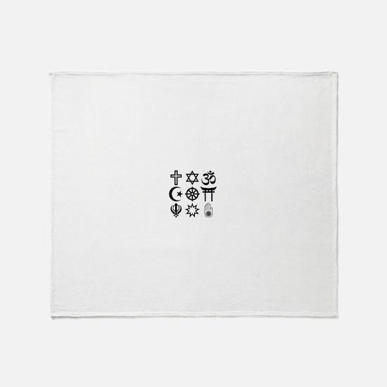 CoExist Throw Blanket