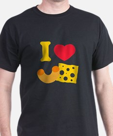 I Heart Mac And Cheese T-Shirt