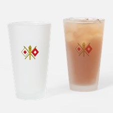 Signal Corps Drinking Glass