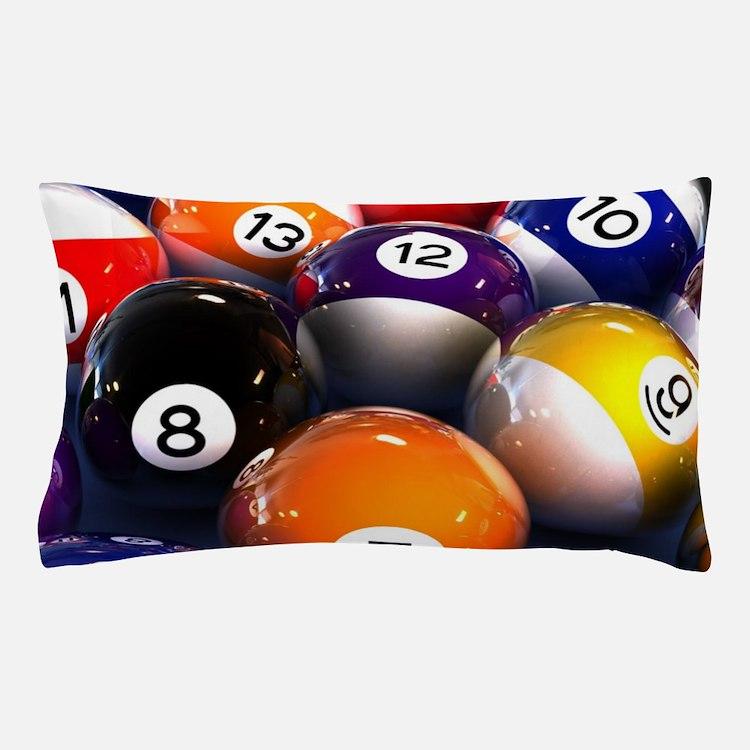 Billiard Balls Pillow Case