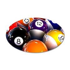 Billiard Balls Wall Sticker