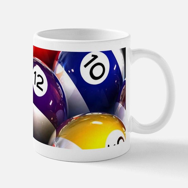 Billiard Balls Mugs