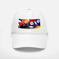 Billiard Balls Baseball Baseball Cap