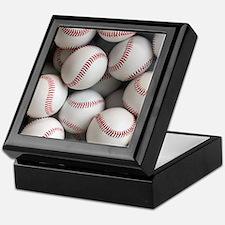 Baseball Balls Keepsake Box