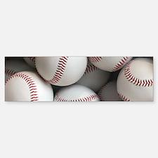Baseball Balls Bumper Bumper Bumper Sticker