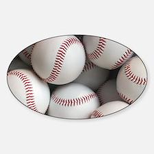 Baseball Balls Decal