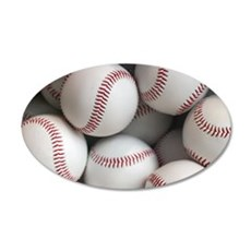 Baseball Balls Wall Sticker