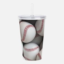 Baseball Balls Acrylic Double-wall Tumbler