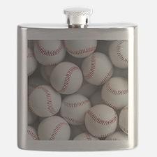 Baseball Balls Flask