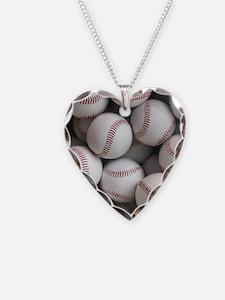 Baseball Balls Necklace