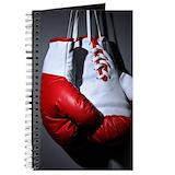 Boxing glove Journals & Spiral Notebooks