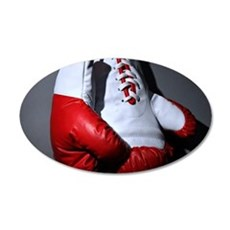 Boxing Gloves Wall Sticker