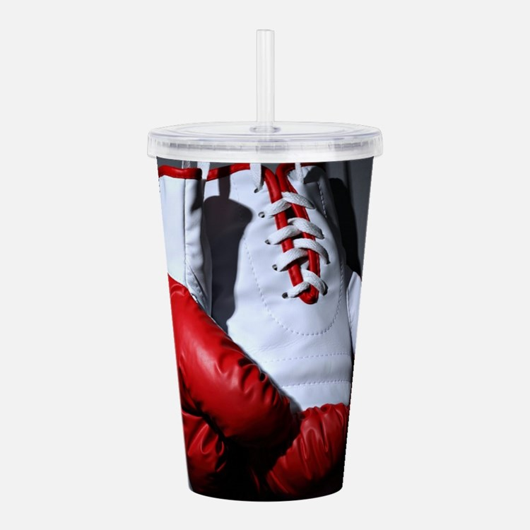 Boxing Gloves Acrylic Double-wall Tumbler
