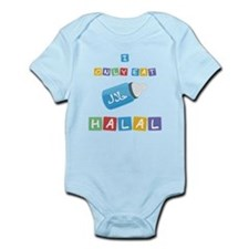 Cute Halal Infant Bodysuit