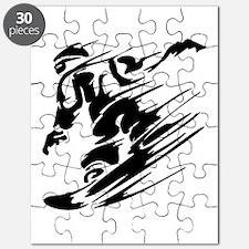 Cute Snowboarding Puzzle