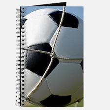 Football Ball In Net Journal