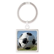 Football Ball In Net Keychains