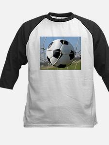 Football Ball In Net Baseball Jersey