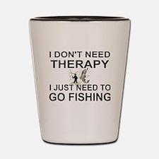 Cute Fishing Shot Glass