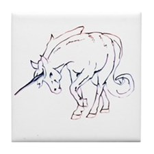 Unicorns Tile Coaster