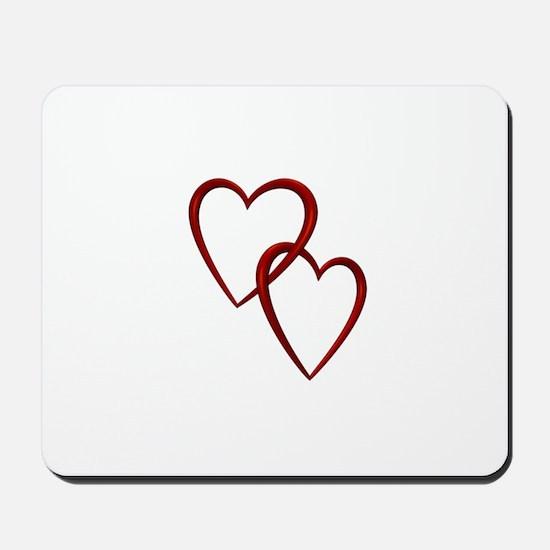 Two Hearts Mousepad