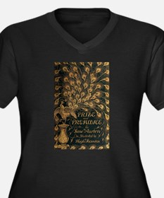 Pride and Prejudice Bookcover Plus Size T-Shirt