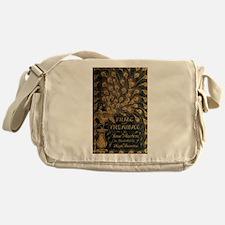 Pride and Prejudice Bookcover Messenger Bag