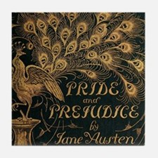 Pride and Prejudice Bookcover Tile Coaster