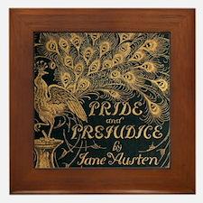 Pride and Prejudice Bookcover Framed Tile